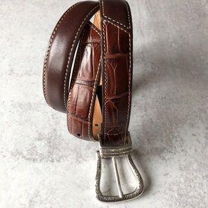 Brighten leather belt. Small 28